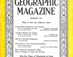 Item collection national geographic magazine march 1951 2015 07 31 16 41 53