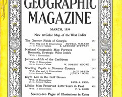 Item collection national geographic magazine march 1954 2015 07 31 17 00 21
