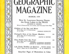 Item collection national geographic magazine march 1959 2015 07 29 16 19 45