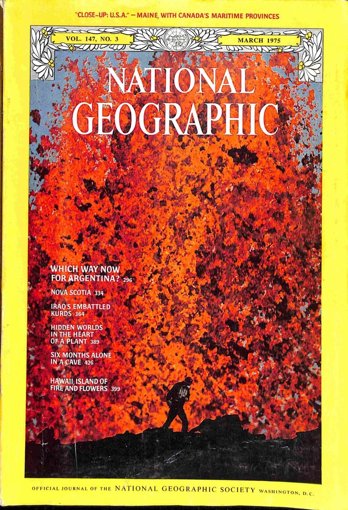 National Geographic Magazine, March 1975