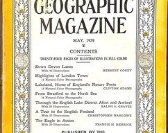 Item collection national geographic magazine may 1929 2014 03 23 14 45 28