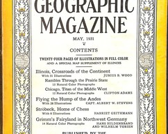 Item collection national geographic magazine may 1931 2014 03 23 13 48 18