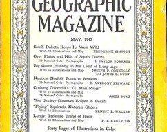 Item collection national geographic magazine may 1947 2015 07 29 16 31 36