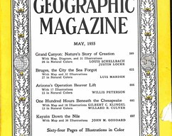 Item collection national geographic magazine may 1955 2015 07 29 16 13 48