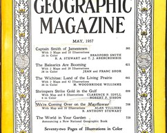 Item collection national geographic magazine may 1957 2014 03 23 09 56 06