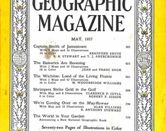 Item collection national geographic magazine may 1957 2015 07 31 12 15 28