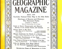Item collection national geographic magazine may 1958 2014 03 23 10 04 12