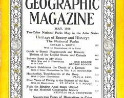 Item collection national geographic magazine may 1958 2015 07 31 12 30 57