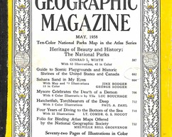 Item collection national geographic magazine may 1958 2015 06 25 14 44 55