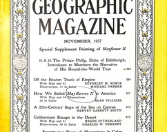 Item collection national geographic magazine november 1957 2014 03 23 10 00 03