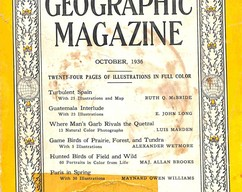 Item collection national geographic magazine october 1936 2015 07 29 16 37 41