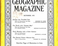 Item collection national geographic magazine october 1951 2015 07 31 13 24 27