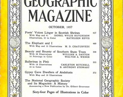 Item collection national geographic magazine october 1957 2015 07 31 12 20 52