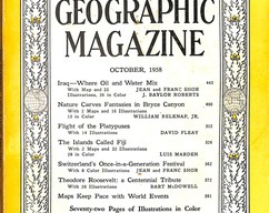 Item collection national geographic magazine october 1958 2014 03 23 10 07 47