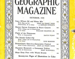 Item collection national geographic magazine october 1958 2015 07 29 16 10 11