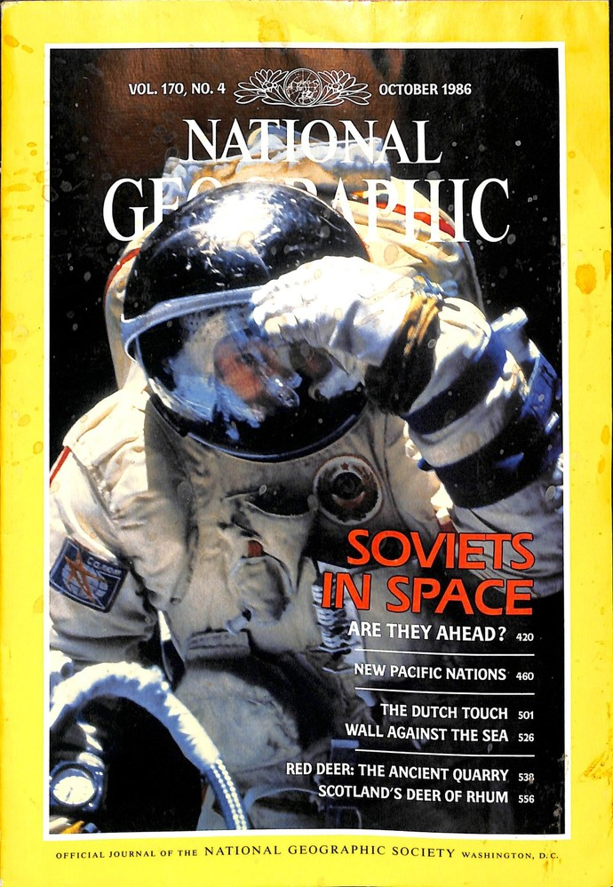 National Geographic Magazine, October 1986