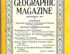 Item collection national geographic magazine september 1928 2014 03 23 14 41 45