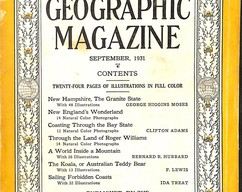 Item collection national geographic magazine september 1931 2014 03 23 13 50 03