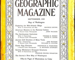 Item collection national geographic magazine september 1948 2014 03 24 09 56 44