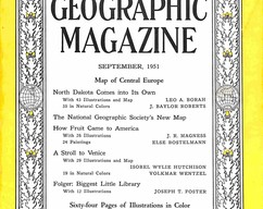 Item collection national geographic magazine september 1951 2015 07 31 13 24 44