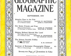 Item collection national geographic magazine september 1954 2015 07 31 15 47 12
