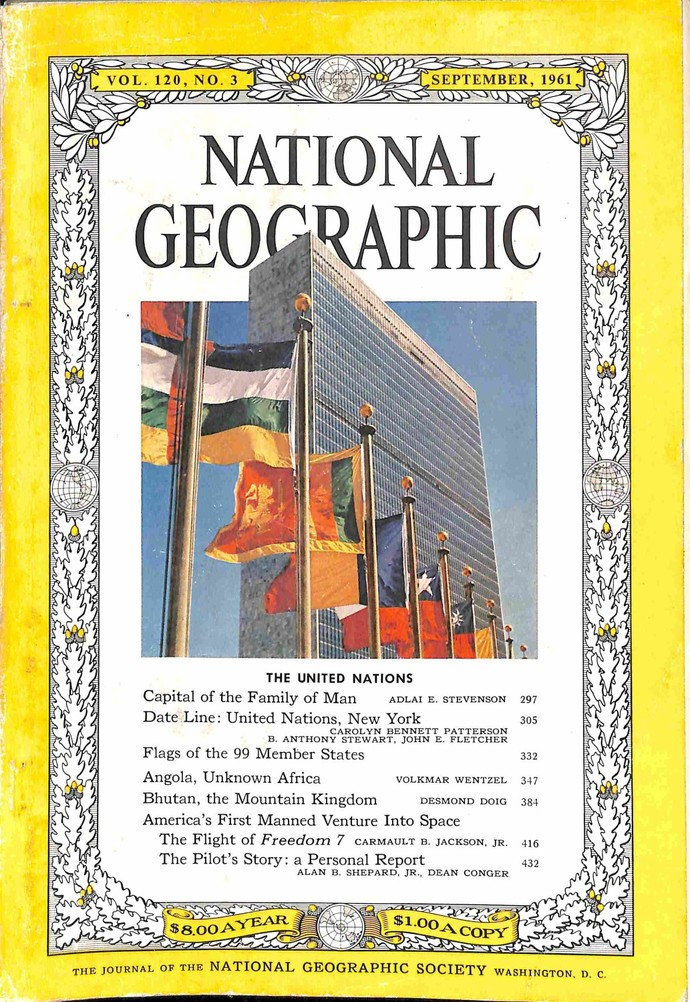 National Geographic Magazine, September 1961