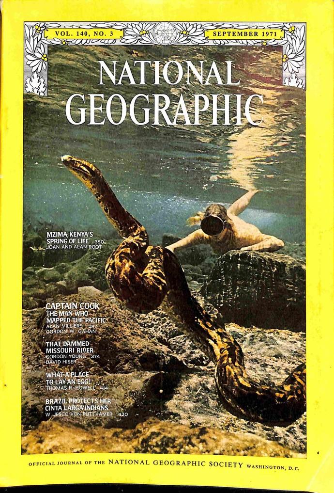 National Geographic Magazine, September 1971