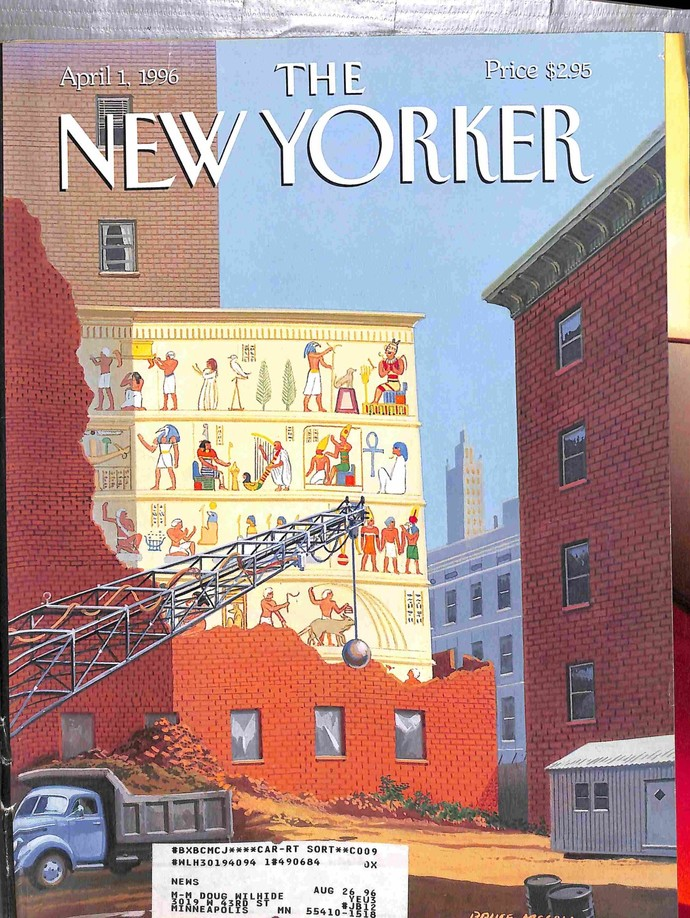 New Yorker, April 1 1996