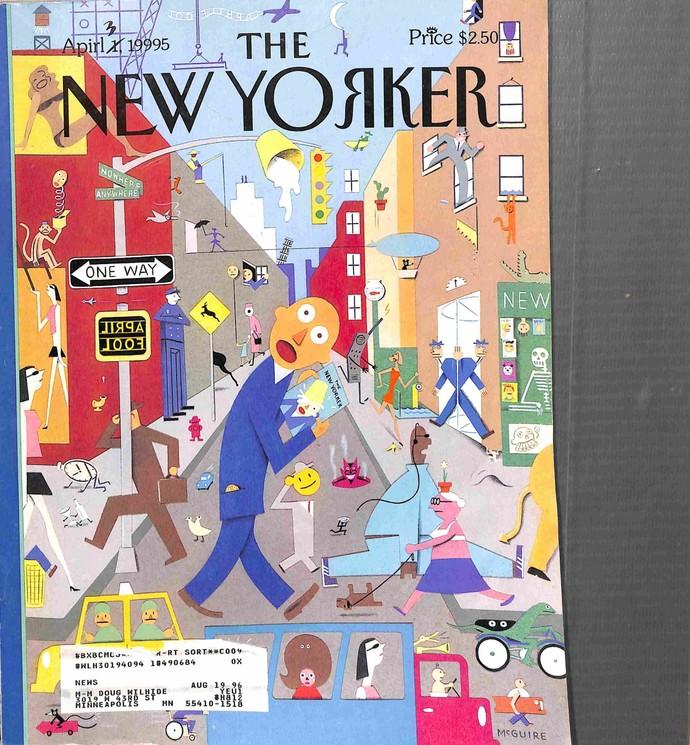New Yorker, April 3 1995