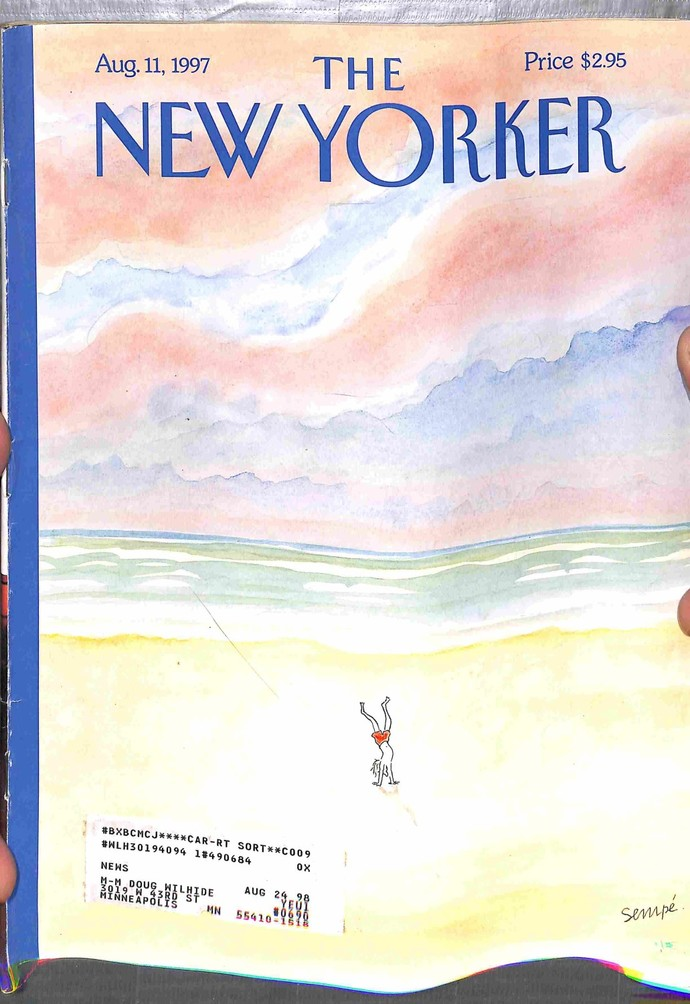 New Yorker, August 11 1997