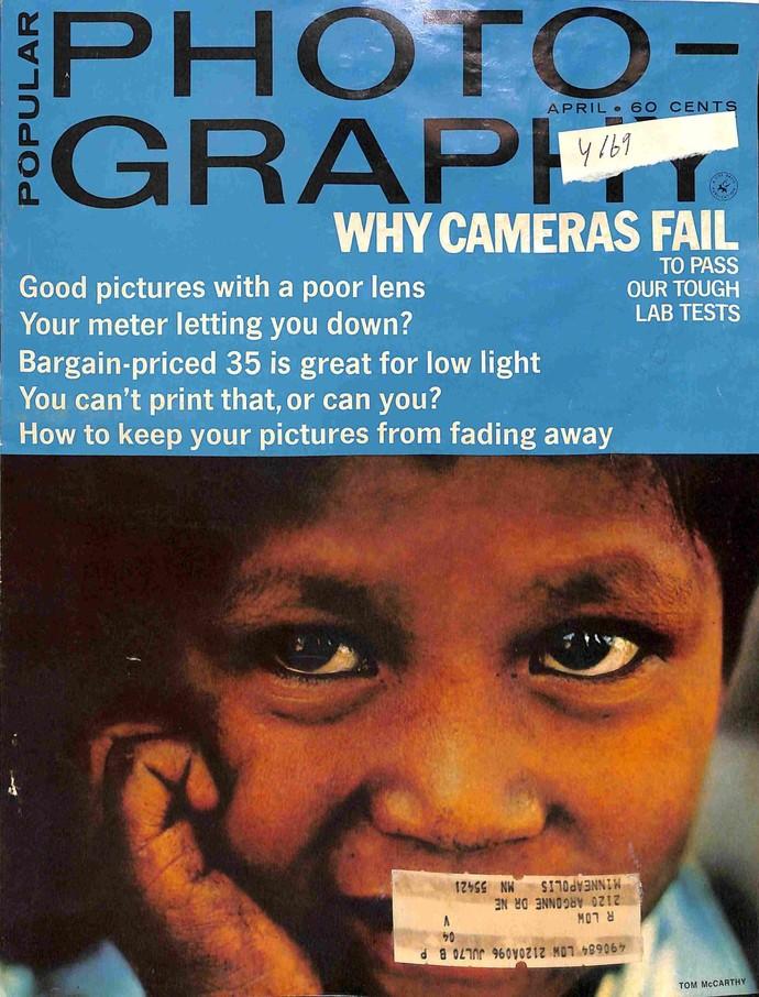 Popular Photography, April 1969