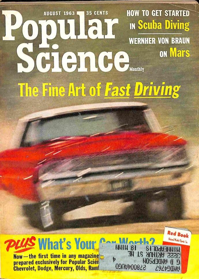 Popular Science Magazine, August 1963