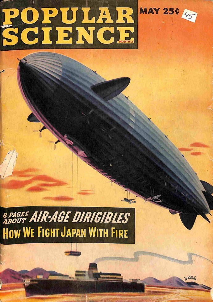 Popular Science Magazine, May 1945