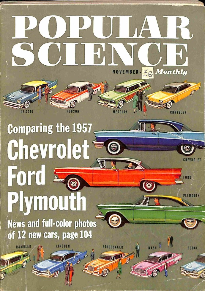 Popular Science Magazine, November 1956