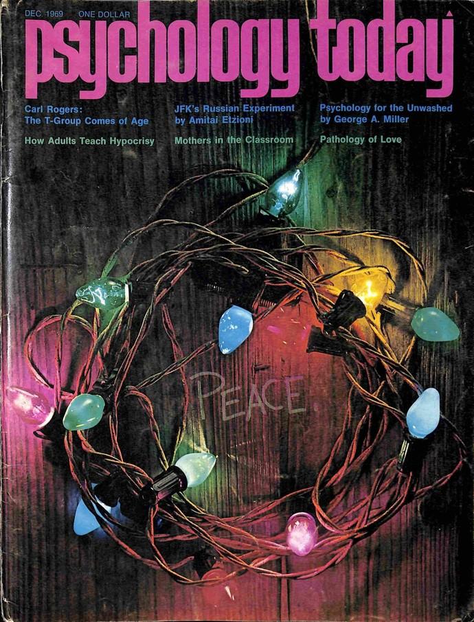 Psychology Today Magazine, December 1969