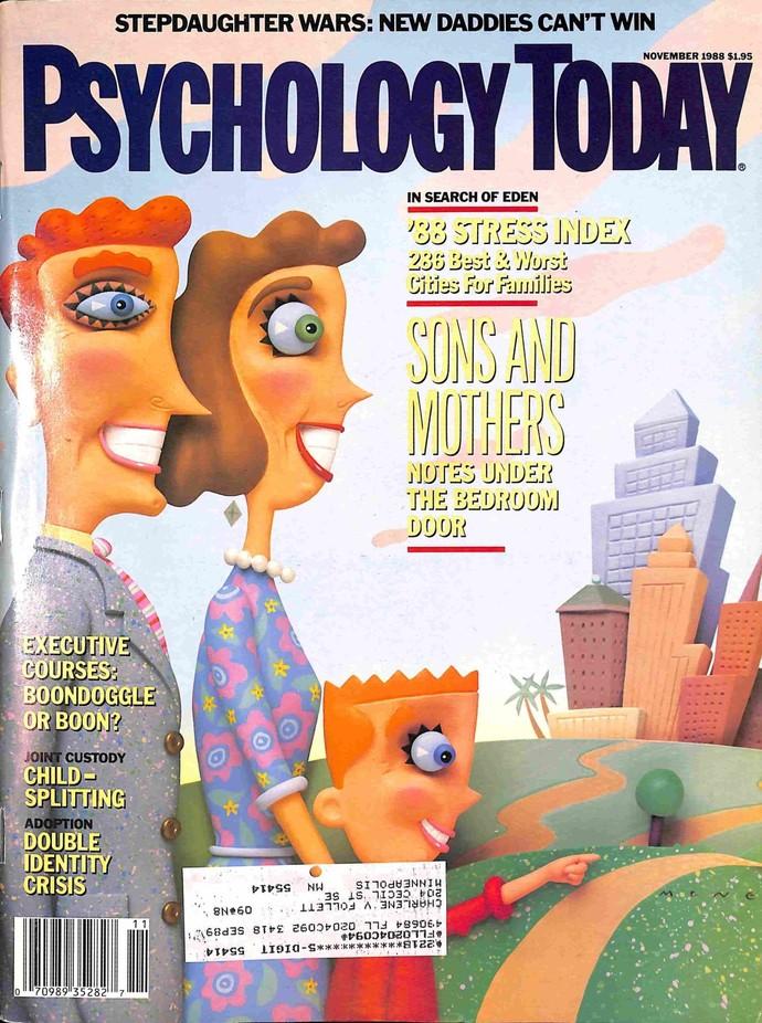 Psychology Today Magazine, November 1988