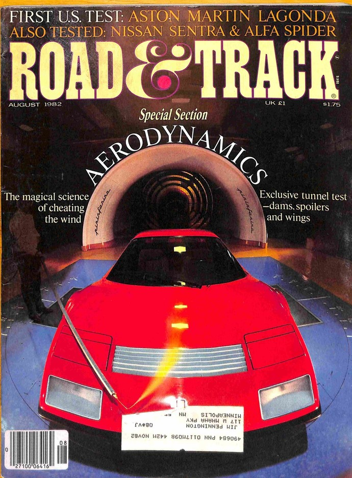 Road and Track Magazine, August 1982