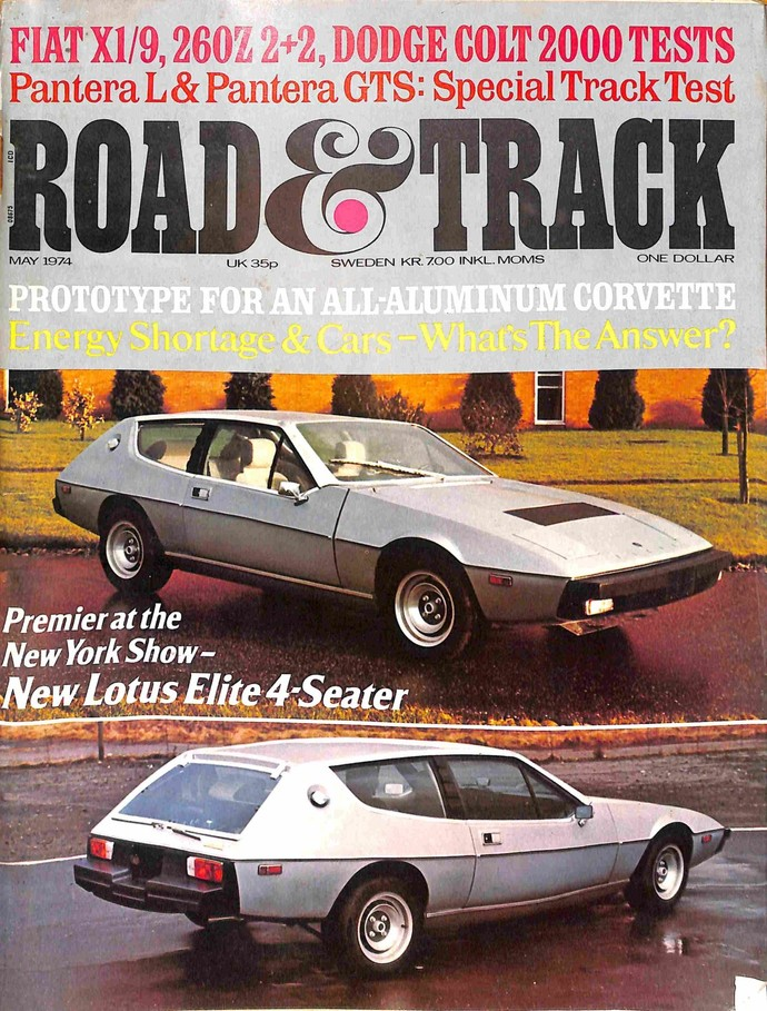 Pay Roadandtrack Com >> Road And Track Magazine May 1974 By Meremartcom On Zibbet