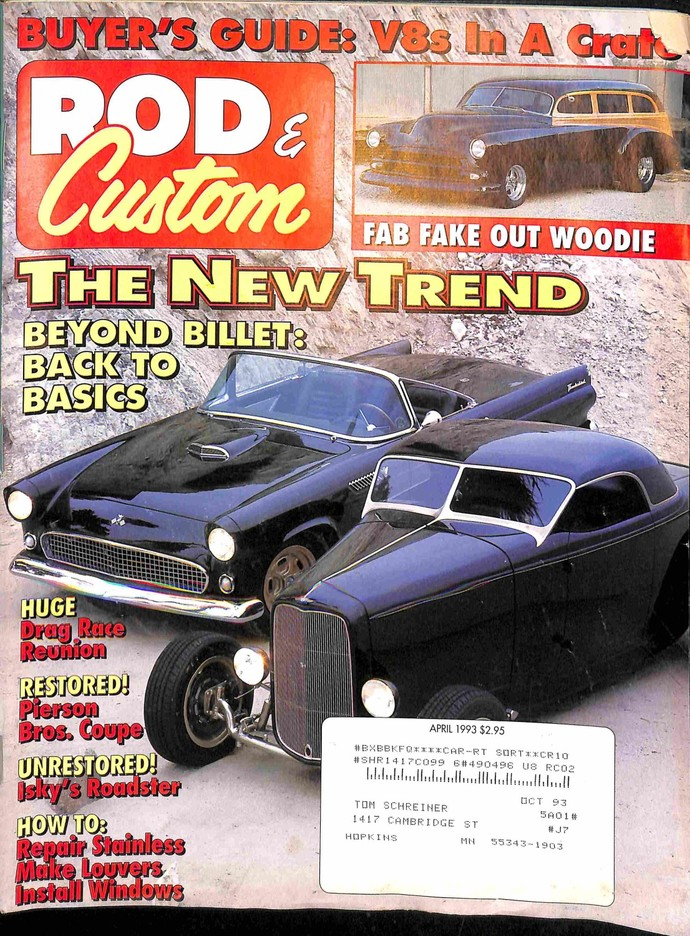 Rod and Custom, April 1993