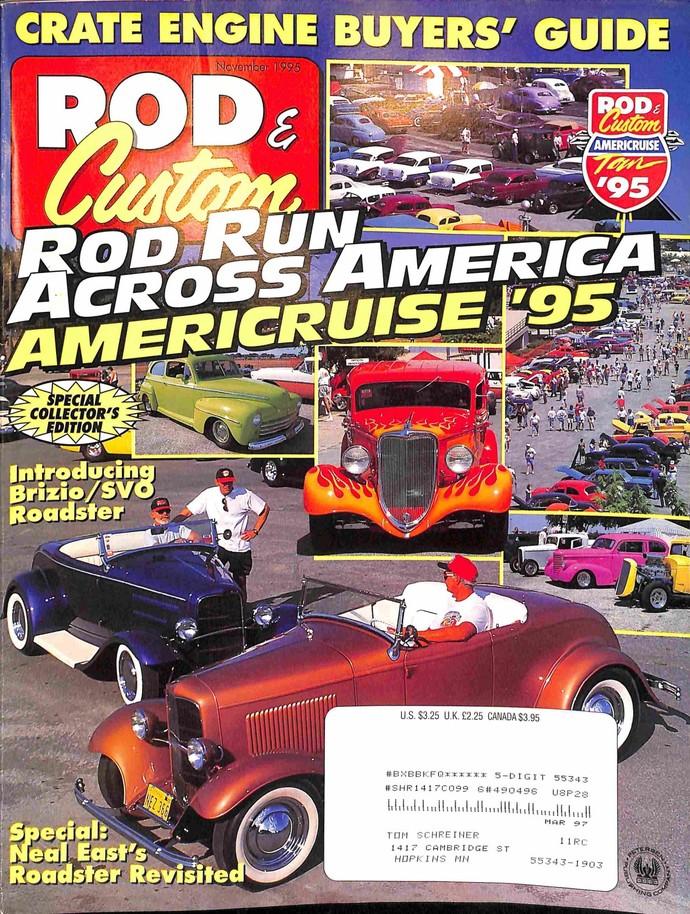 Rod and Custom, November 1995