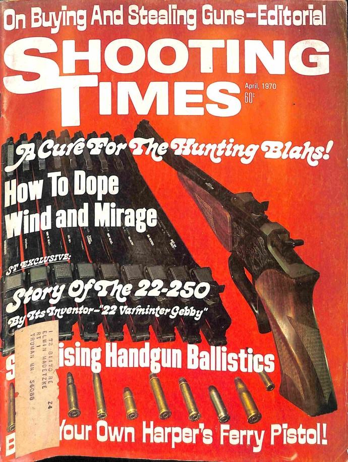 Shooting Times, April 1970