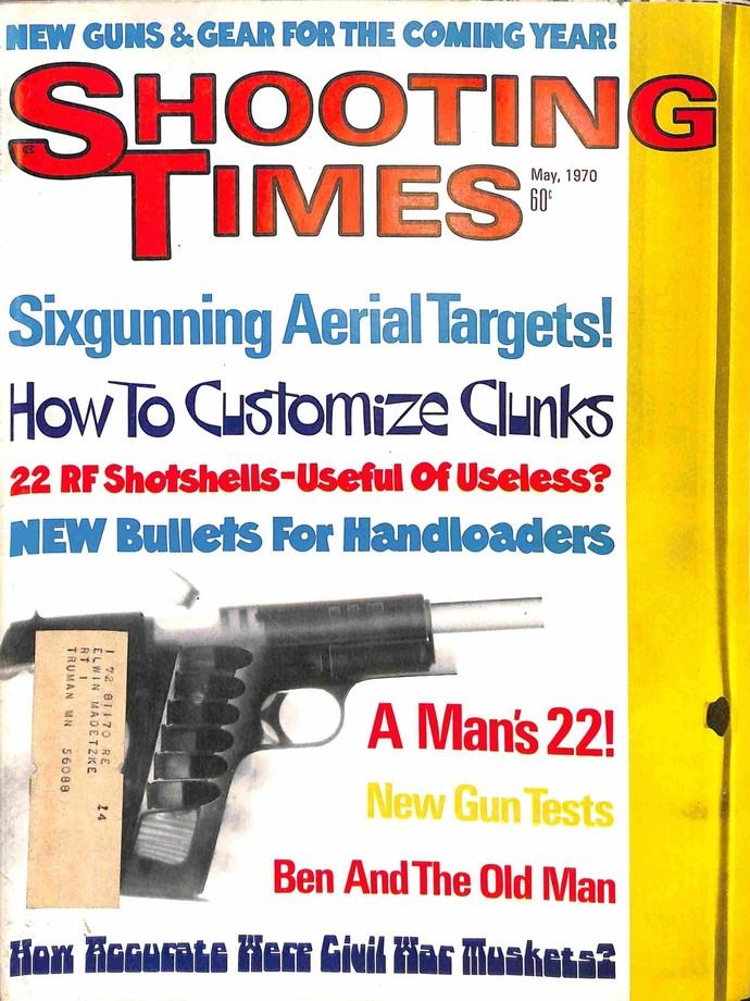 Shooting Times, May 1970