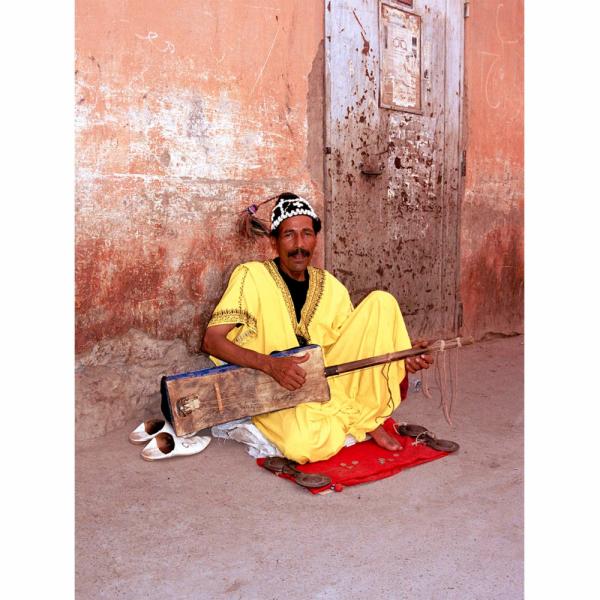 Moroccan Marrakech Musician Photograph