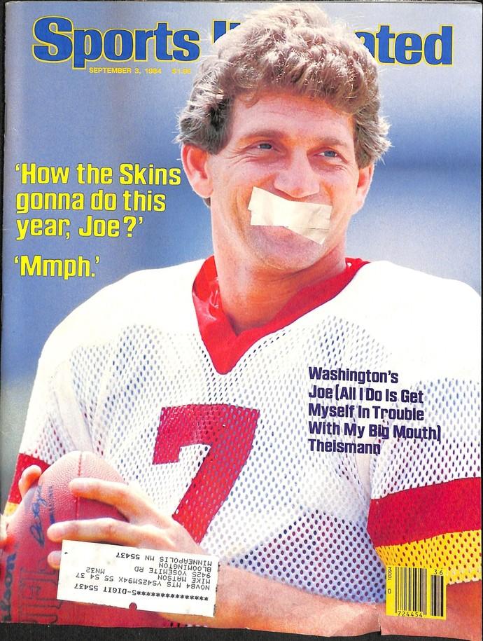 Sports Illustrated Magazine, September 3 1984