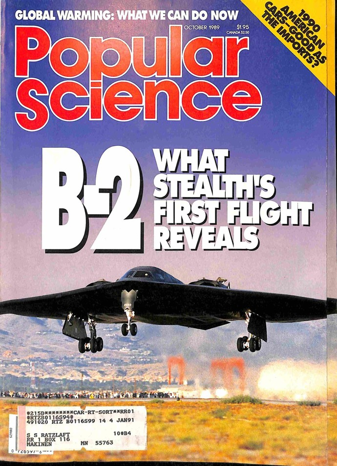 Popular Science, October 1989