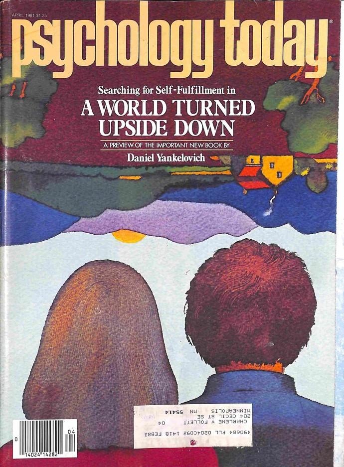 Psychology Today Magazine, April 1981