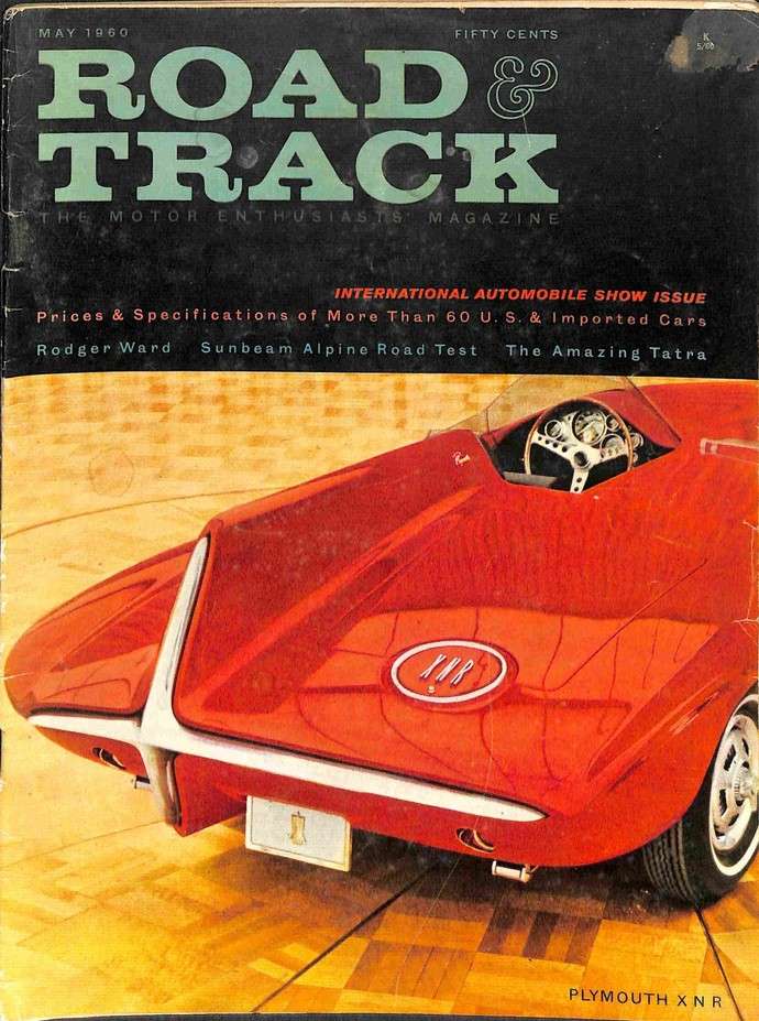 Road and Track Magazine, May 1960