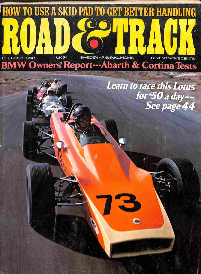 Road and Track Magazine, October 1969