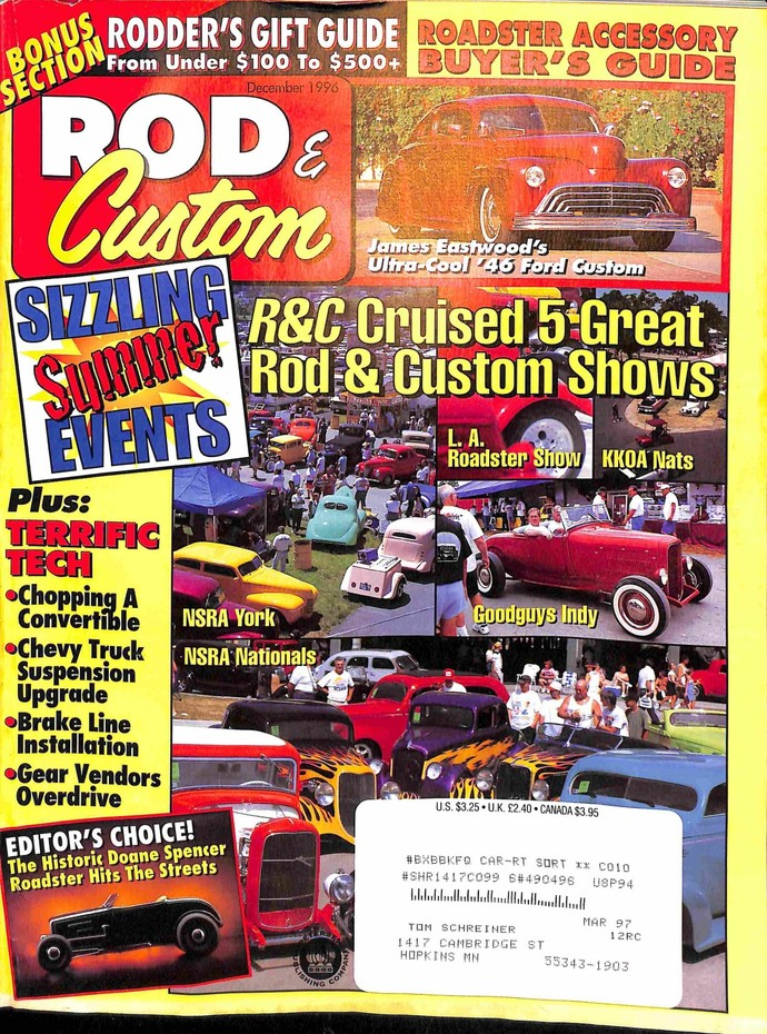 Rod and Custom, December 1996