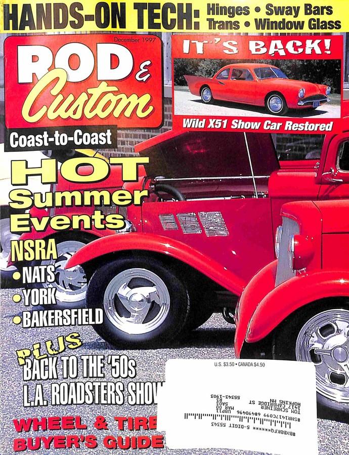 Rod and Custom, December 1997